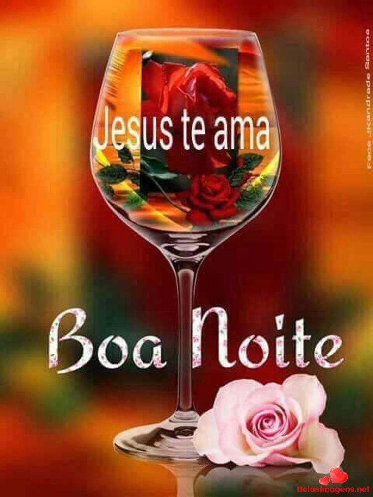 Jesus te ama Boa Noite!