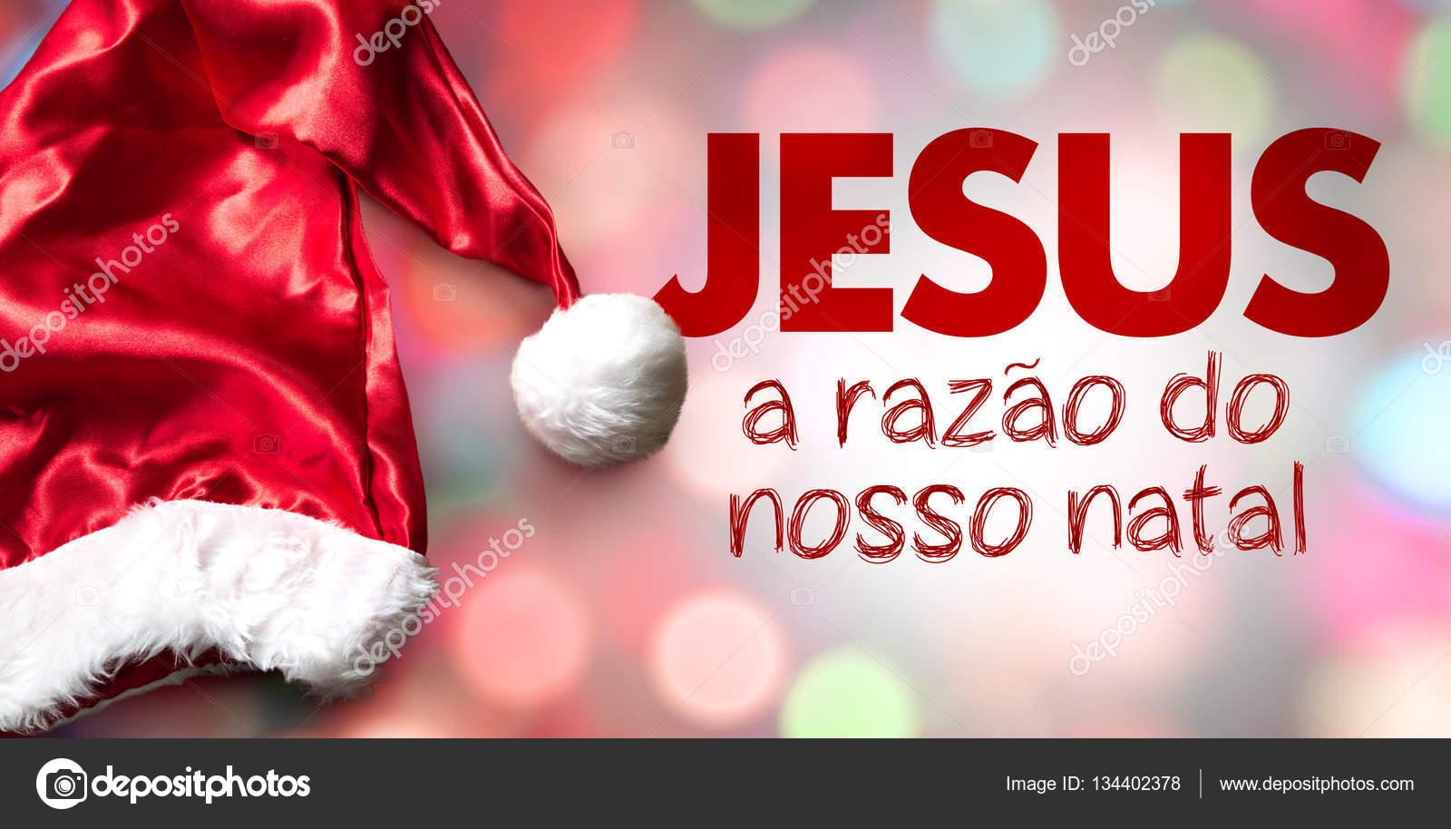 Jesus a razão do nosso Natal!