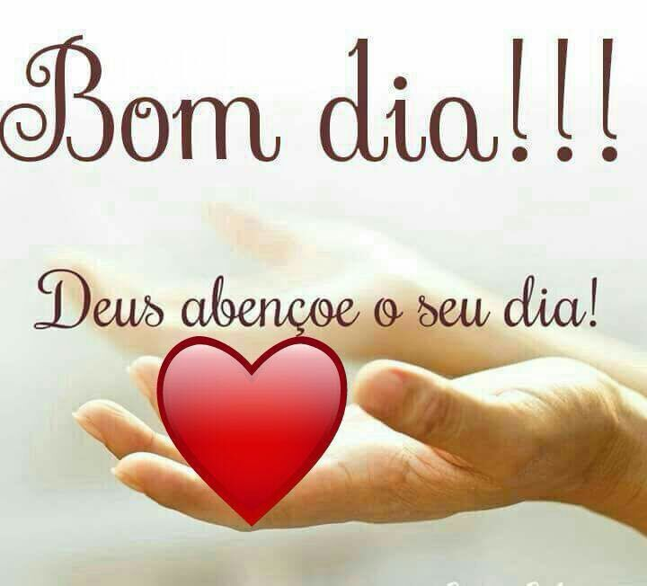 Bom dia!!! Deus abençoe o seu dia!