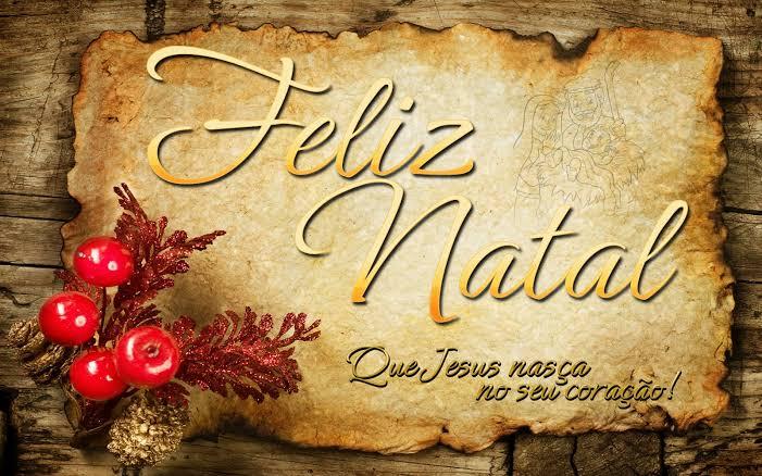 Feliz Natal Que Jesus nasça no seu coração!