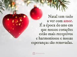 Natal tem tudo a ver com amor. É a época do ano em que nossos  estão mais receptivos e harmonioso e nossas esperanças são renovadas!