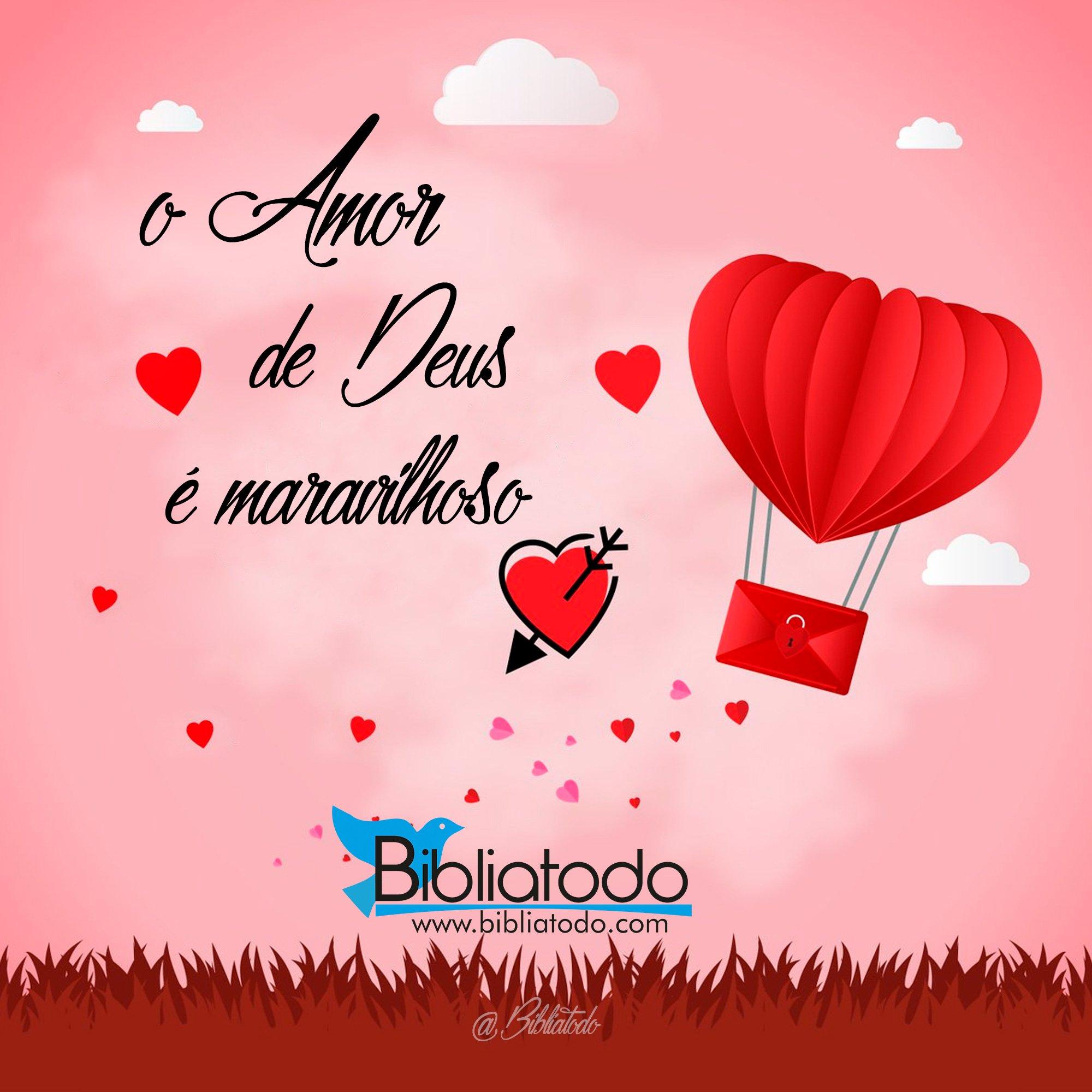 O amor de Deus é maravilho