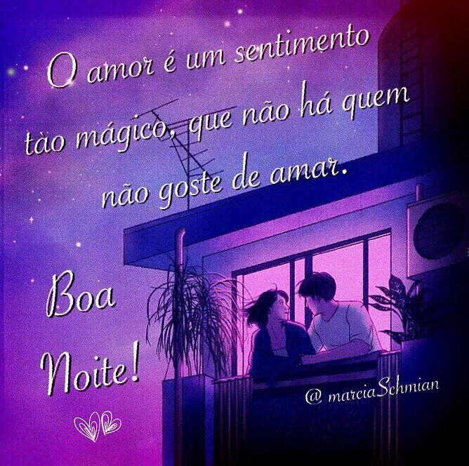 O amor é um sentimento tão mágico, que não há quem não goste de amar!