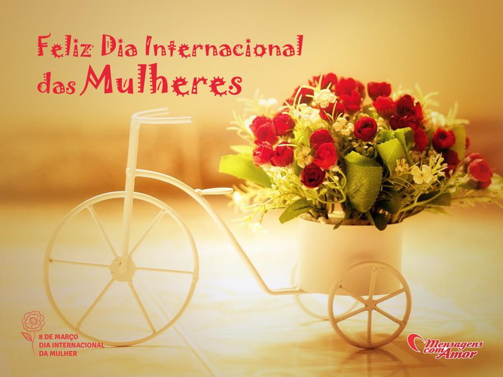 Feliz Dia Internacional das Mulheres!