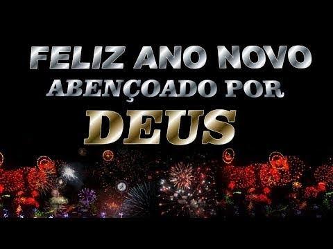 Feliz Ano Novo Abençoado por Deus!
