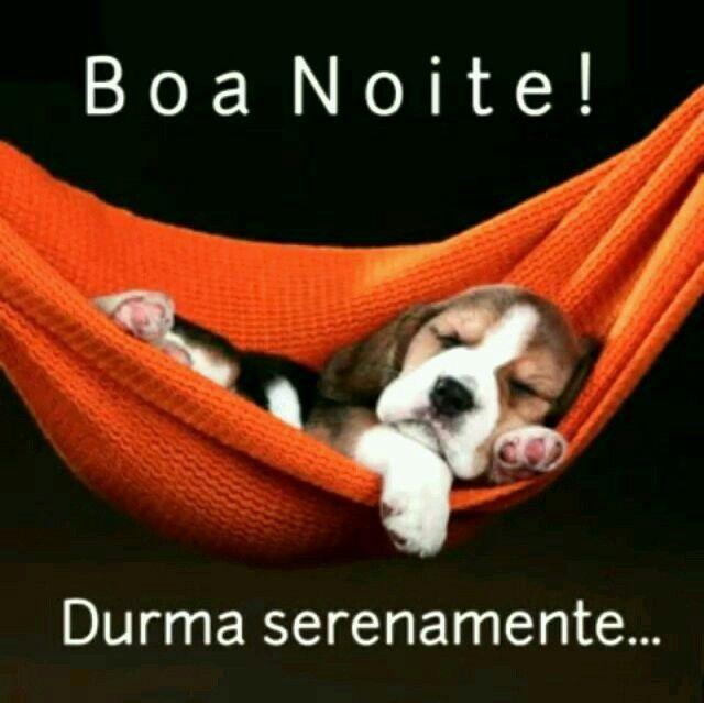 Boa Noite! Durma Serenamente…